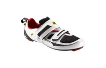 Mavic Tri Race Schuhe Men white/black/quick